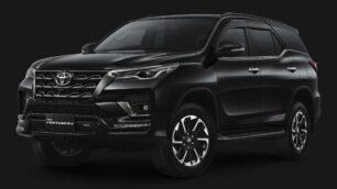 Toyota Fortuner GR Sport: el acabado