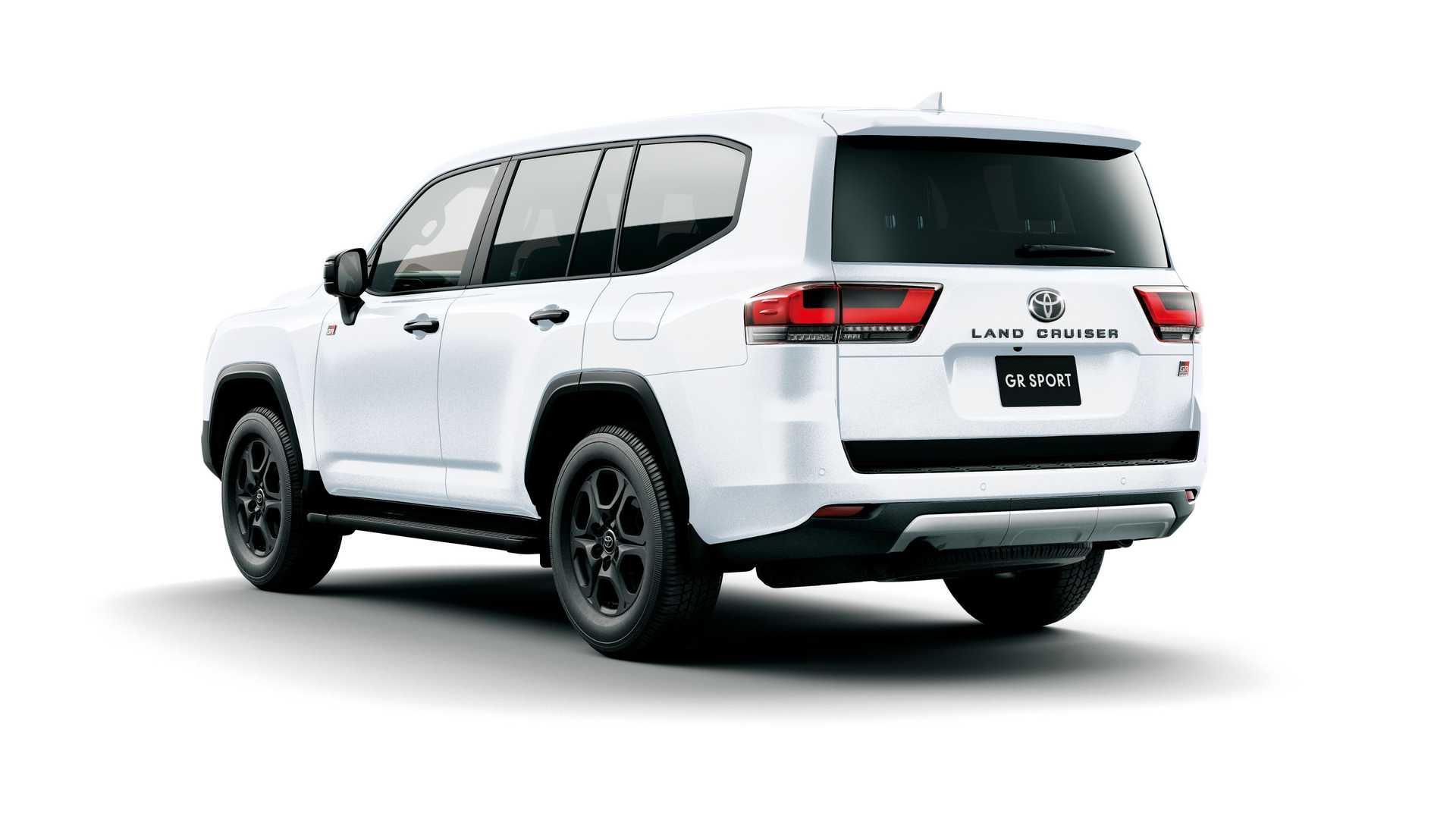 El Toyota Land Cruiser GR Sport se sitúa en lo alto de la gama