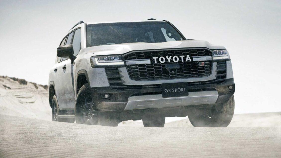 Toyota Land Cruiser GR Sport: inspiración en el Dakar para la versión deportiva