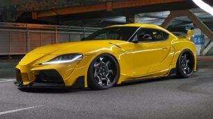 Este Toyota Supra parece un Fórmula 1 y no nos importaría tenerlo en el garaje