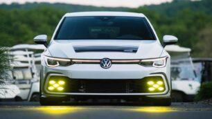 ¿Qué te parece este Volkswagen Golf GTI con aires retro?