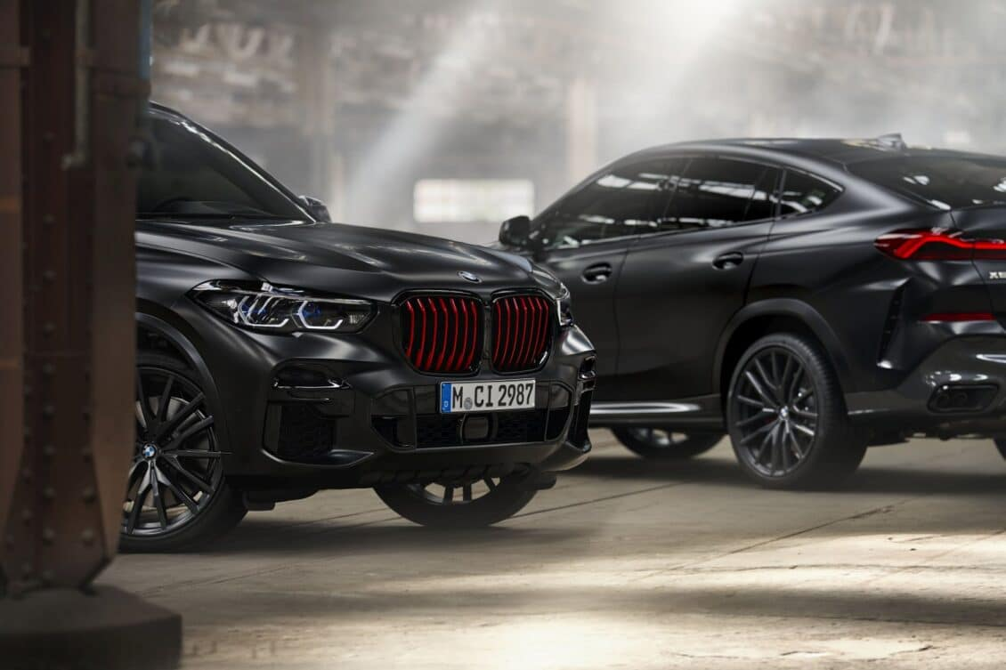 Llegan a España los BMW X5 y X6 «Black Vermilion»