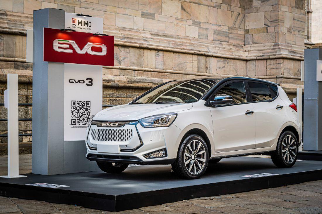Nuevo EVO3, el crossover urbano asequible