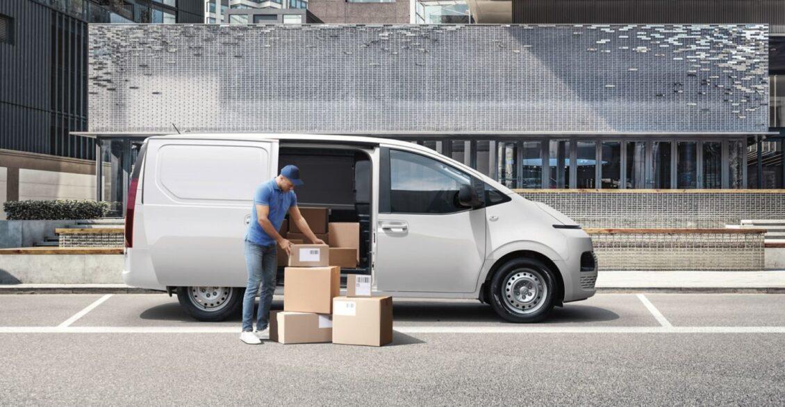 Así es el Hyundai Staria Cargo, un comercial de diseño moderno