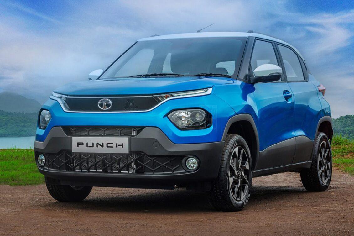 Primera imágen del TATA Punch, un SUV de 4 metros: ¡Menudo cambio!
