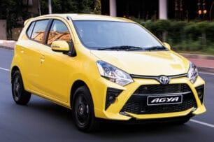 El Toyota Agya ya está muy cerca: desde 7.100 €