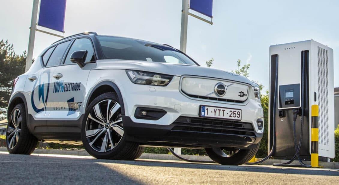 El Volvo XC40 arrasa en Bélgica; el VW Golf cae en picado