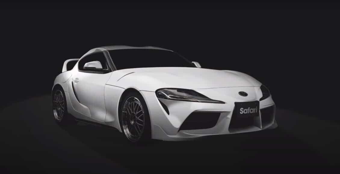 Así es el Toyota GR Supra de TOM´S Racing dedicado a Paul Walker y a Fast and Furious
