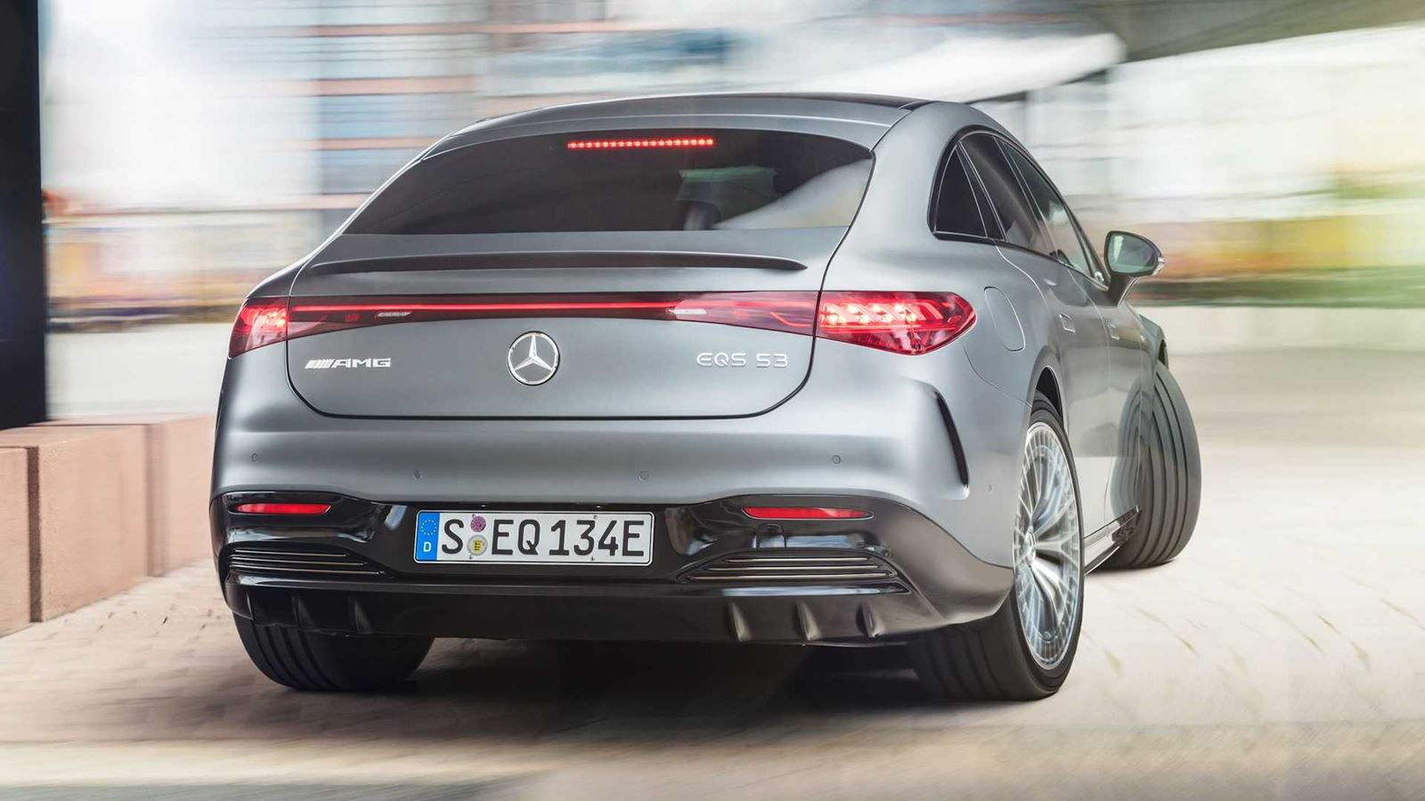 Mercedes AMG EQS trasera