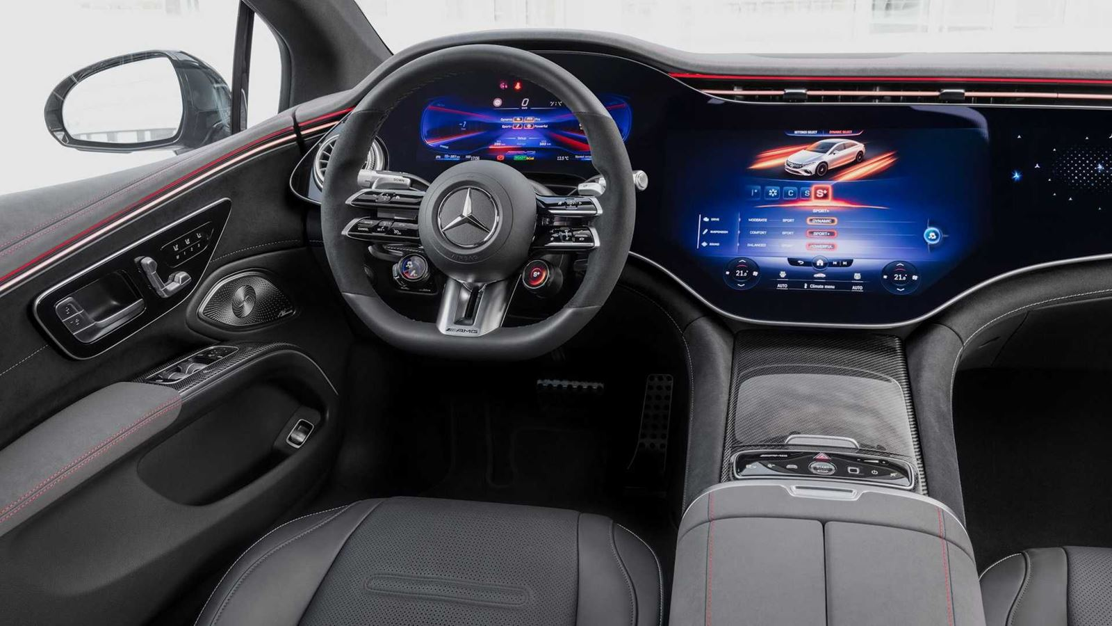 Mercedes AMG EQS interior