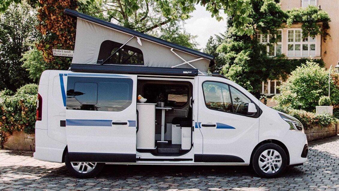 Puedes tener esta Renault Trafic camperizada con baño por menos de 50.000 €