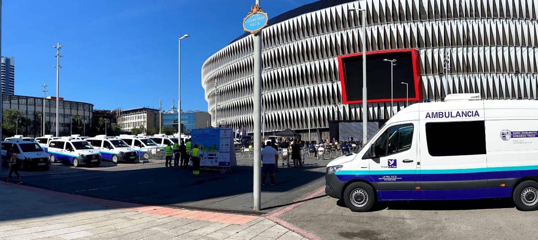 Ambulancia eléctrica Mercedes