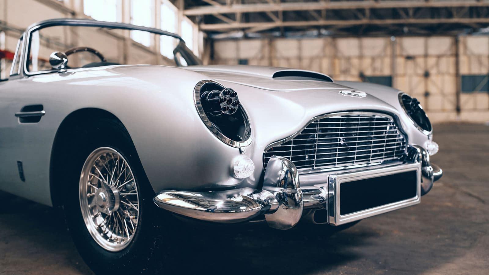 Ametralladoras Aston Martin DB5 Junior