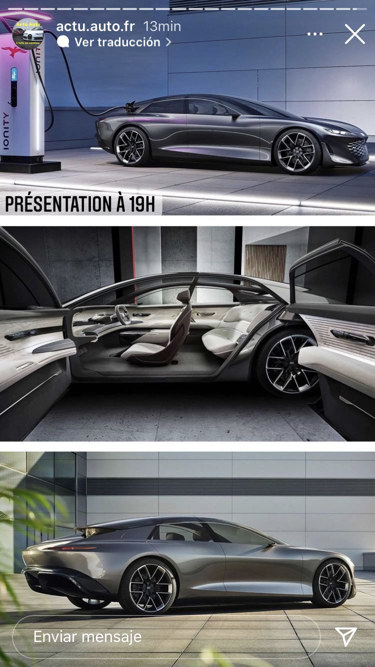 Filtrado el Audi Grand Sphere