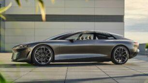 Audi Grandsphere Concept: un salón rodante eléctrico de 720 CV