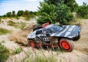 Así es el Audi eléctrico del Dakar de 680 CV que se recarga gracias a un motor TFSI del DTM