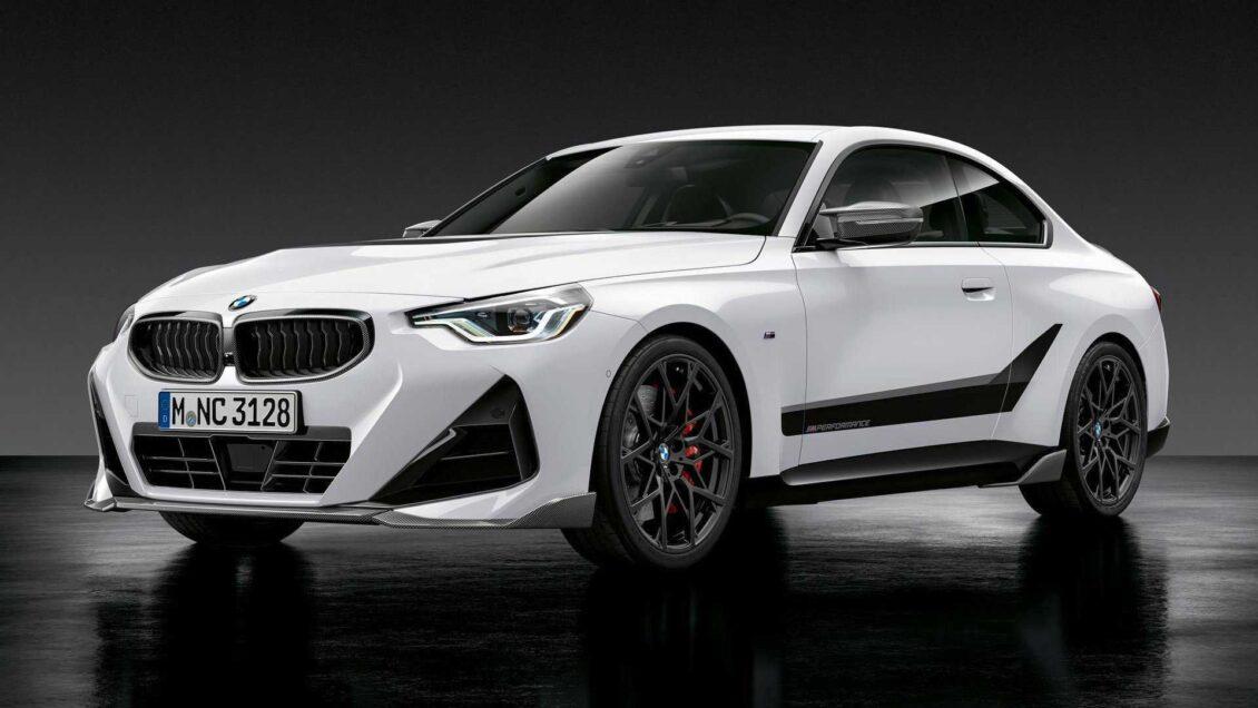 El BMW Serie 2 Coupé se viste con los accesorios M Performance: ¿Mejor ahora?