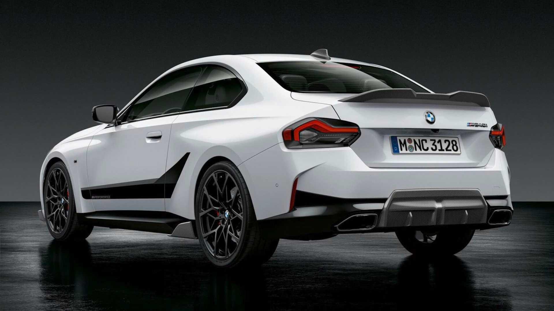 EL BMW Serie 2 Coupé con M Performance Parts es más atractivo