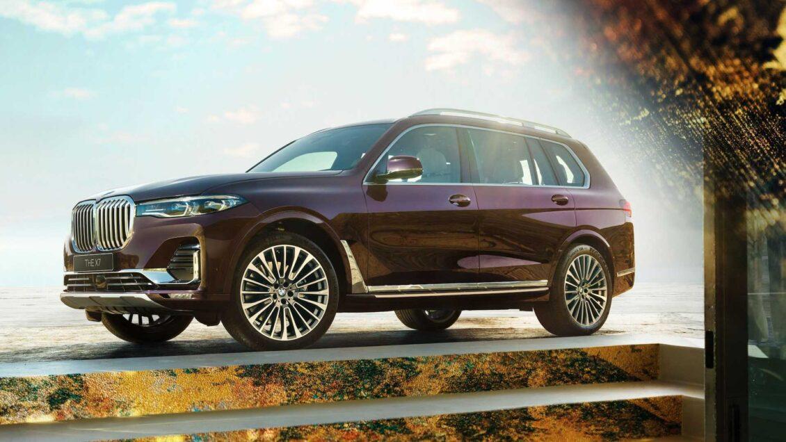BMW X7 Nishijin Edition: solo 3 ejemplares cuyo interior no va a gustar a todos