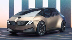 BMW i Vision Circular Concept: materiales reciclados e impresión 3D
