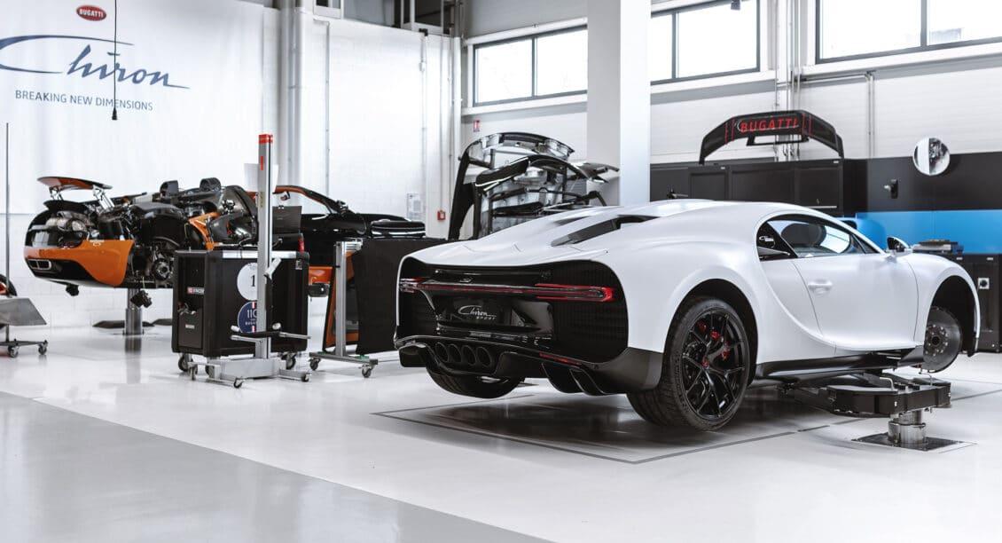 ¿Cuánto cuesta el mantenimiento de un Bugatti Chiron Pur Sport? Ojo a las cifras…