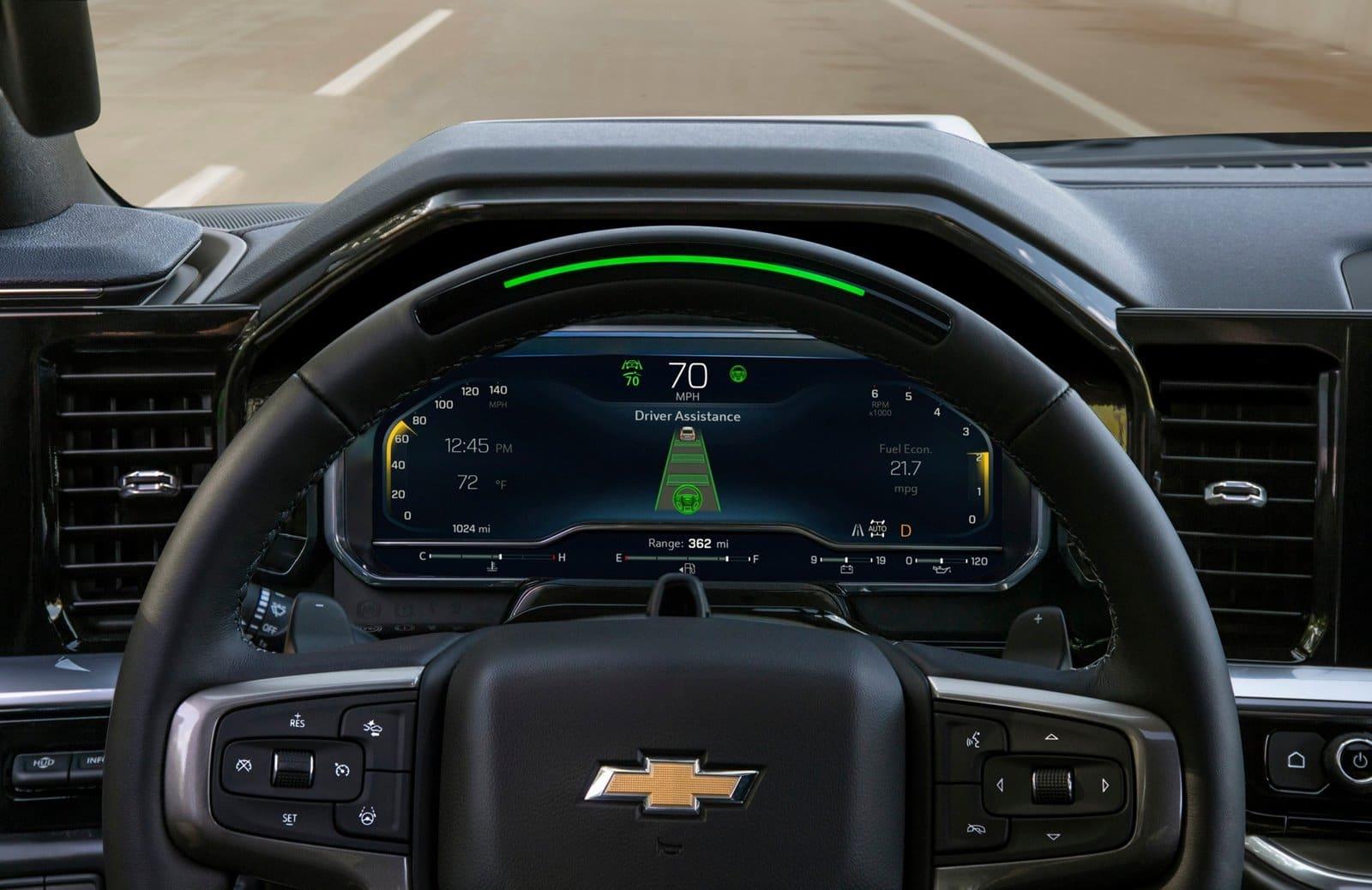 El Chevrolet Silverado 2022 recibe el Super Cruise