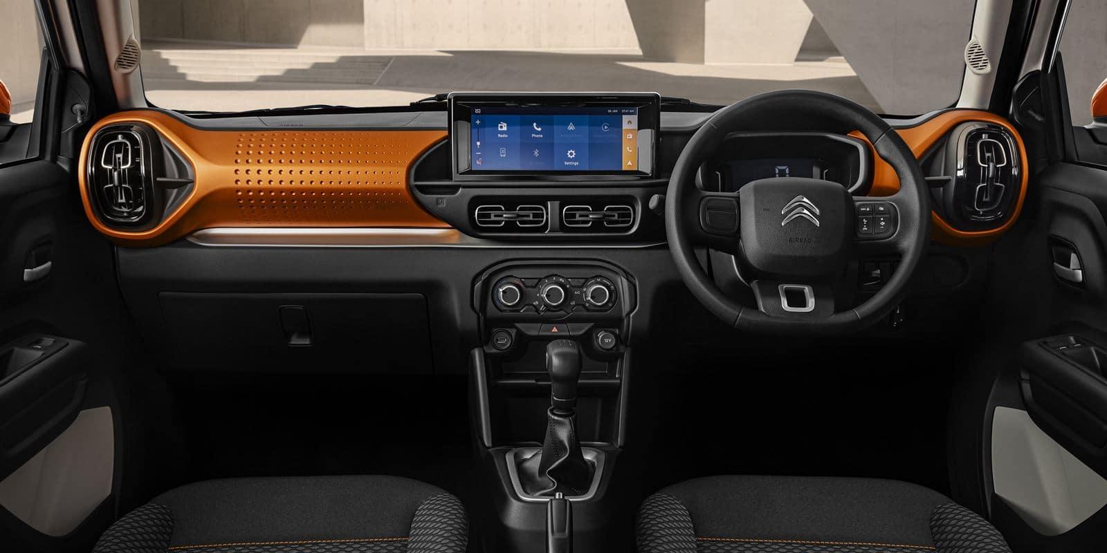 Citroën C3 interior