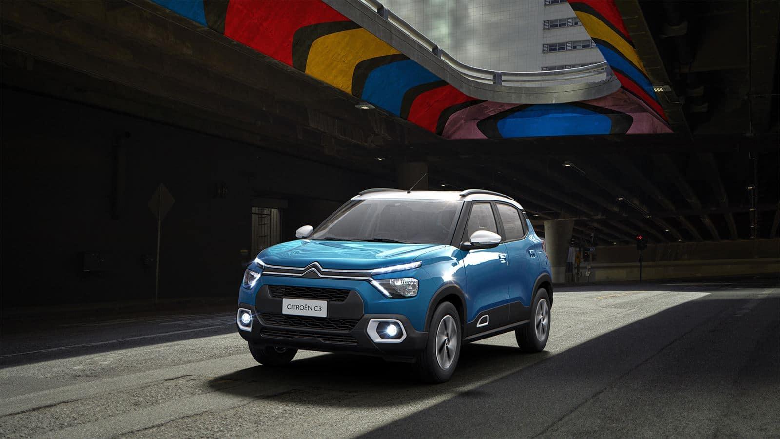 Citroën C3 azul