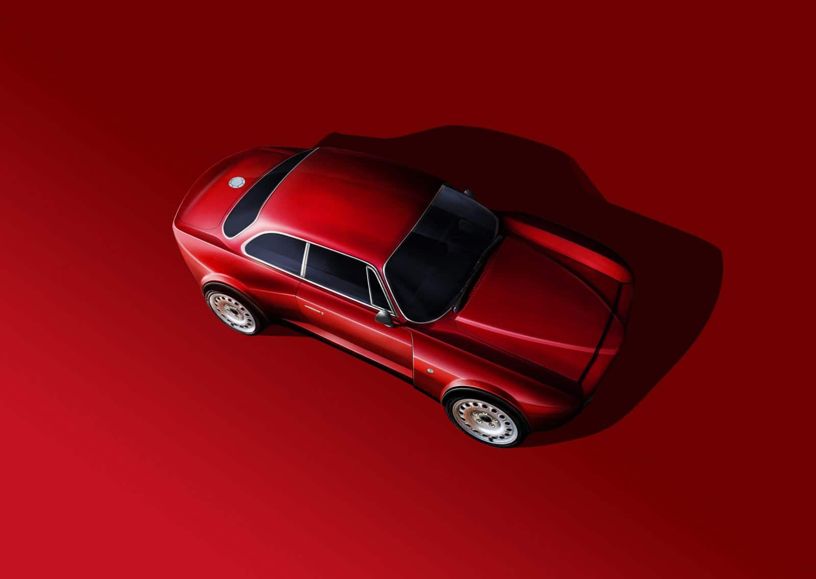 Alfa Romeo Giulia GT rojo