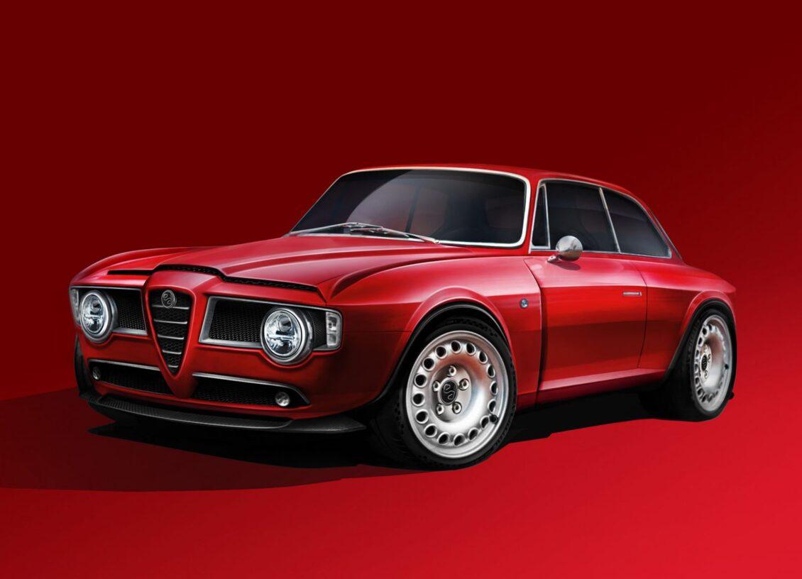 Este GT Veloce tiene corazón de Alfa Romeo Giulia Quadrifoglio y es una pasada