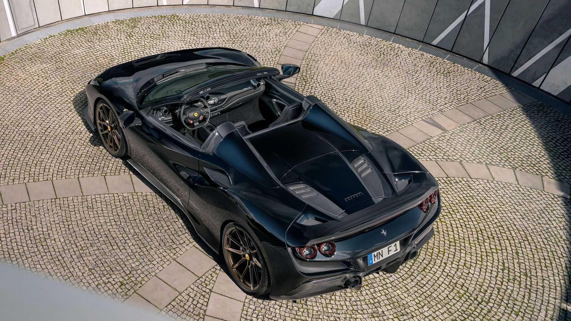 Hasta 802 CV para el Ferrari F8 Spider de Novitec