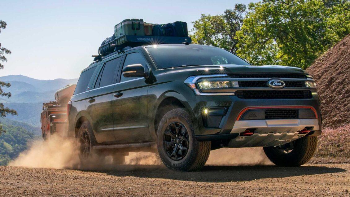 El Ford Expedition 2022 llega con más potencia, tecnología y un nuevo paquete todoterreno