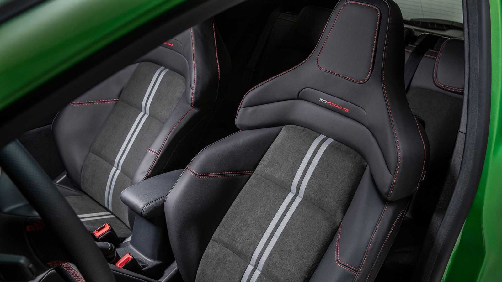 Ford Fiesta ST asientos