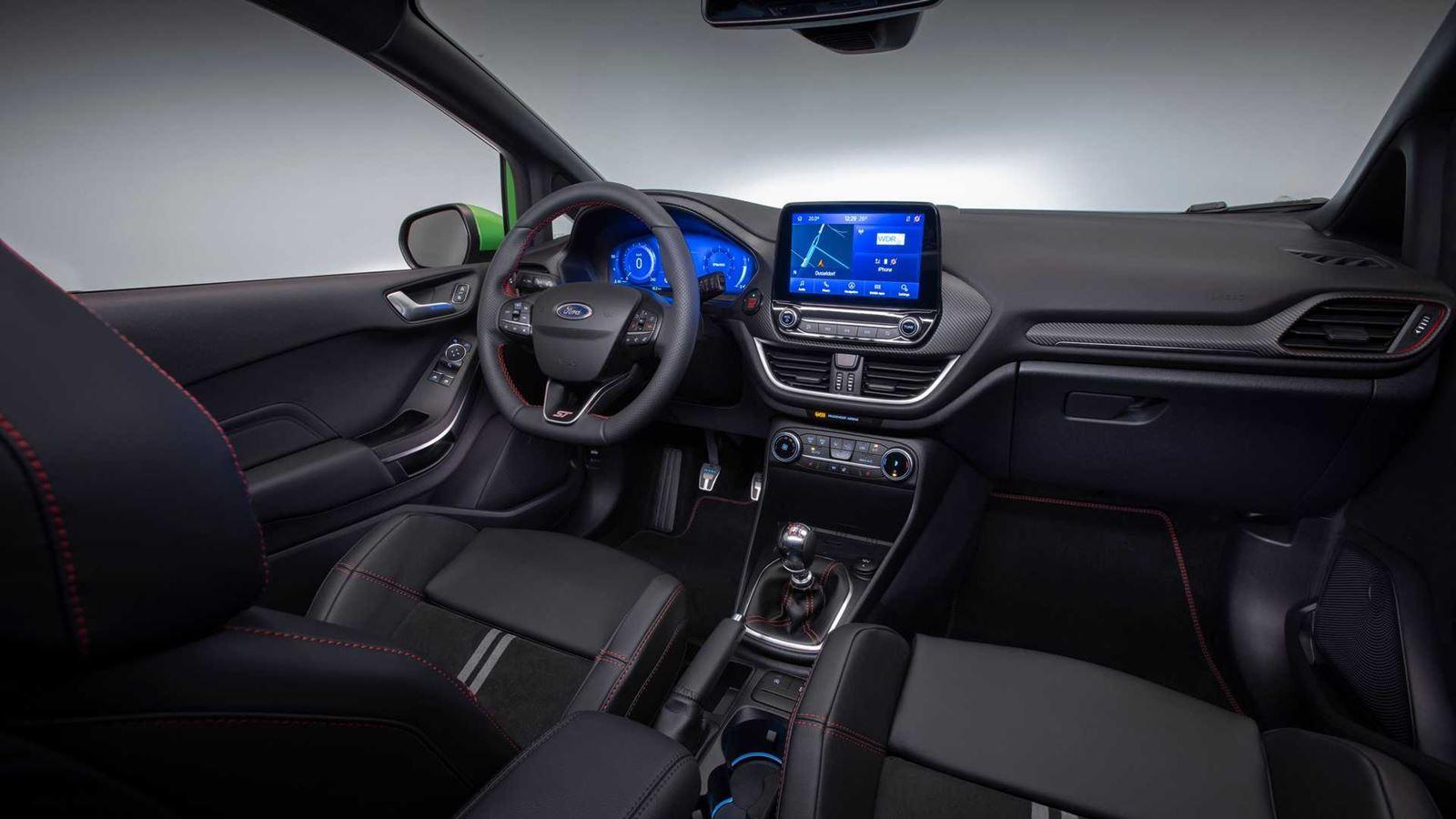 Ford Fiesta interior