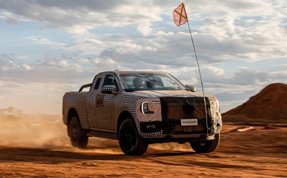Primeros detalles de la nueva generación del Ford Ranger: pinta bien