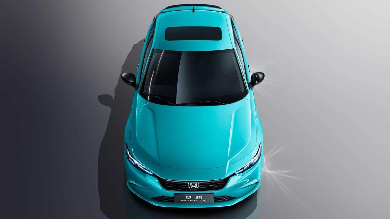 Honda Integra azul