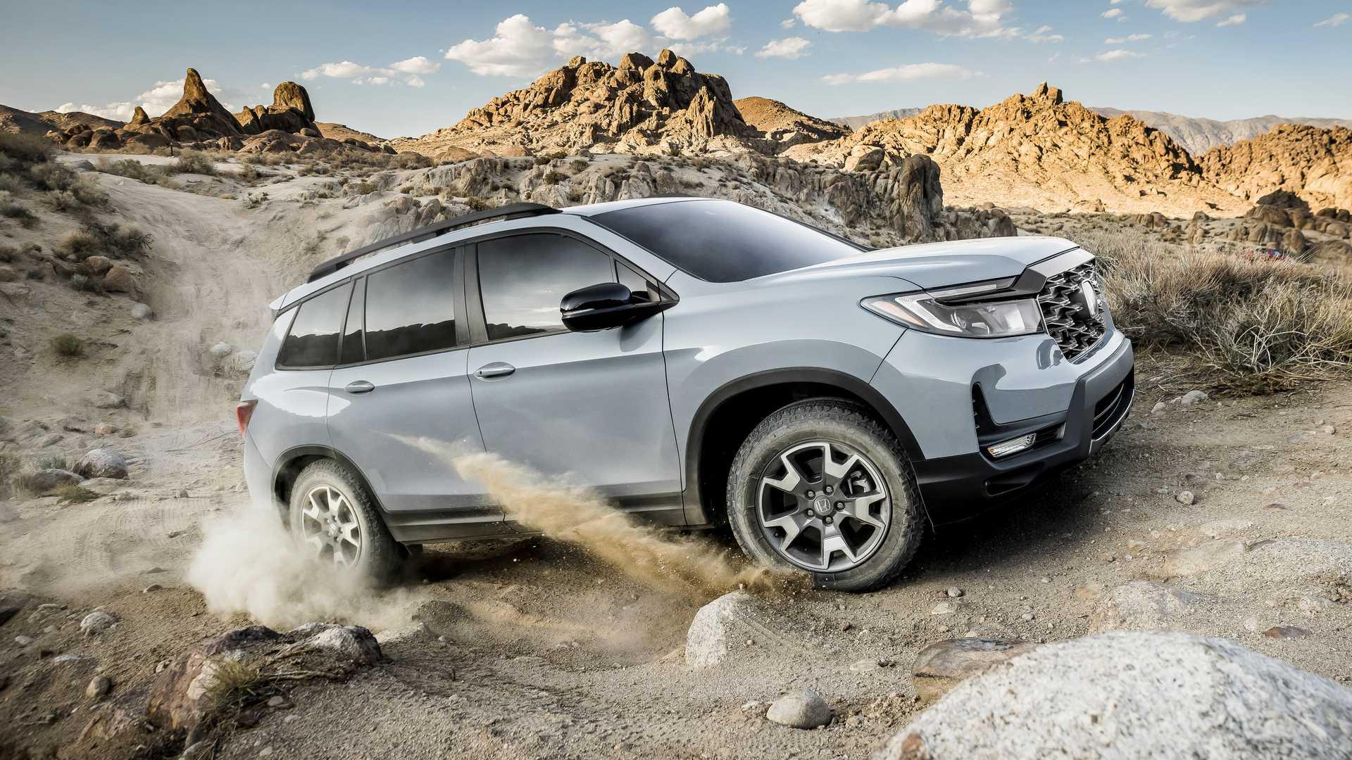 Acabado TrailSport Edition para el Honda Passport 2022