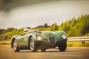 Jaguar C-Type Continuation, un coche de 1953 fabricado a día de hoy