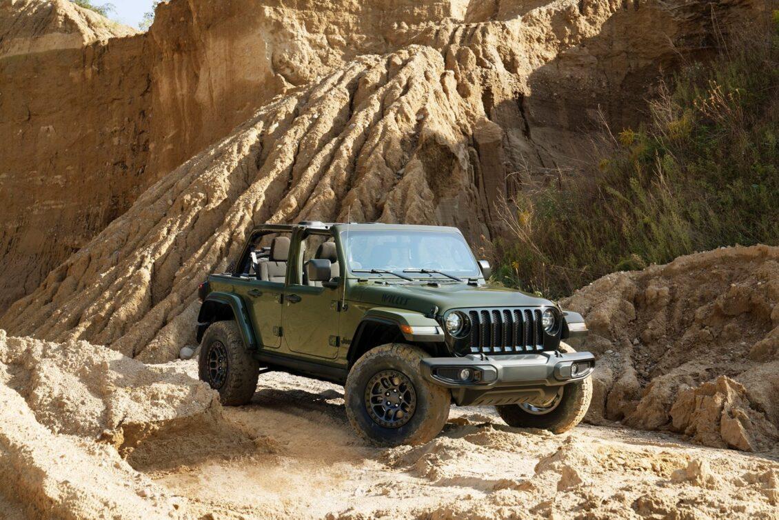 Jeep Wrangler Willys: esencia del pasado en una bestia actual