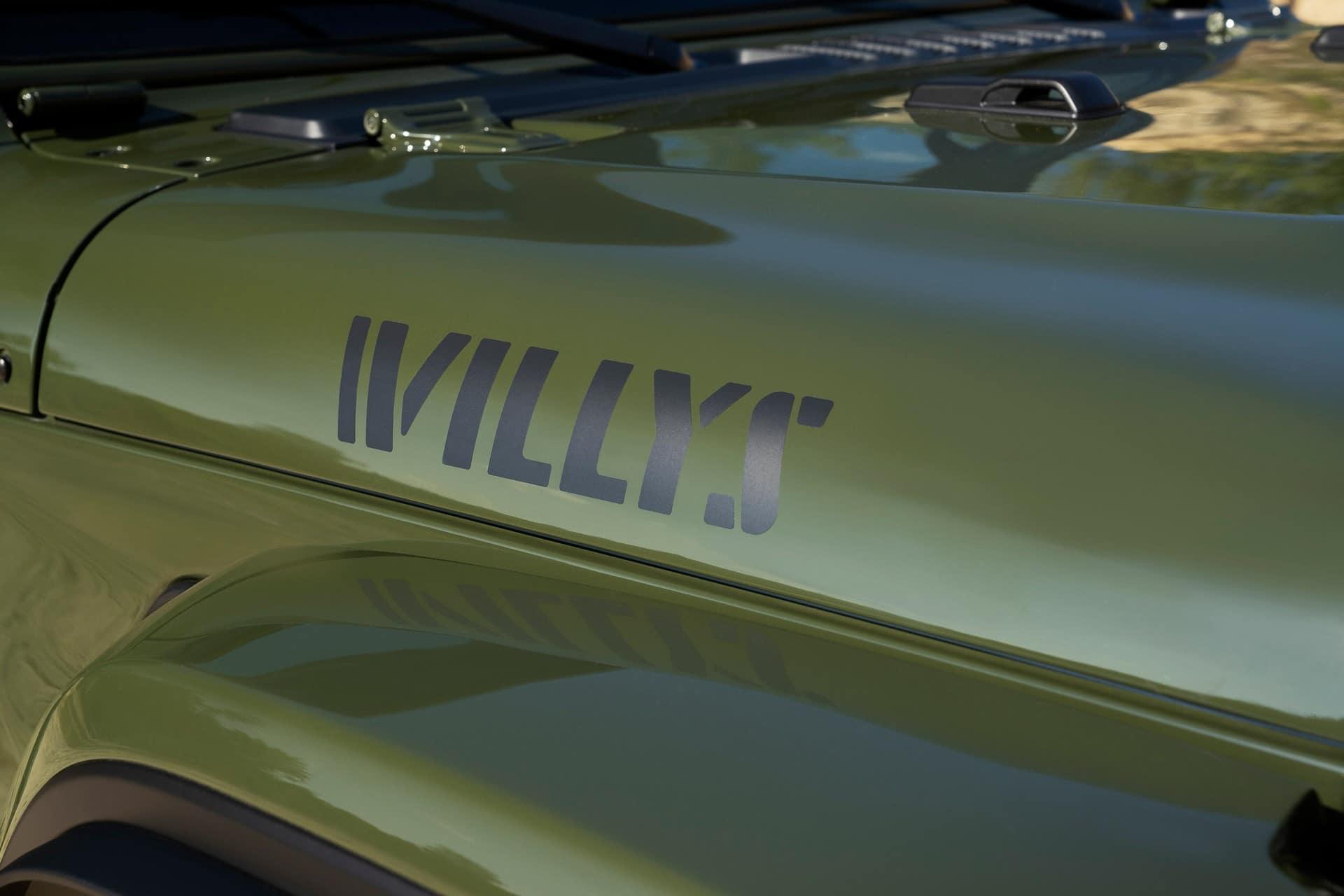 El Jeep Wrangler Willys evoca el pasado de la marca