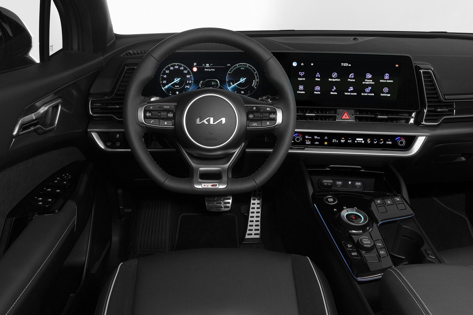 nuevo Kia Sportage interior