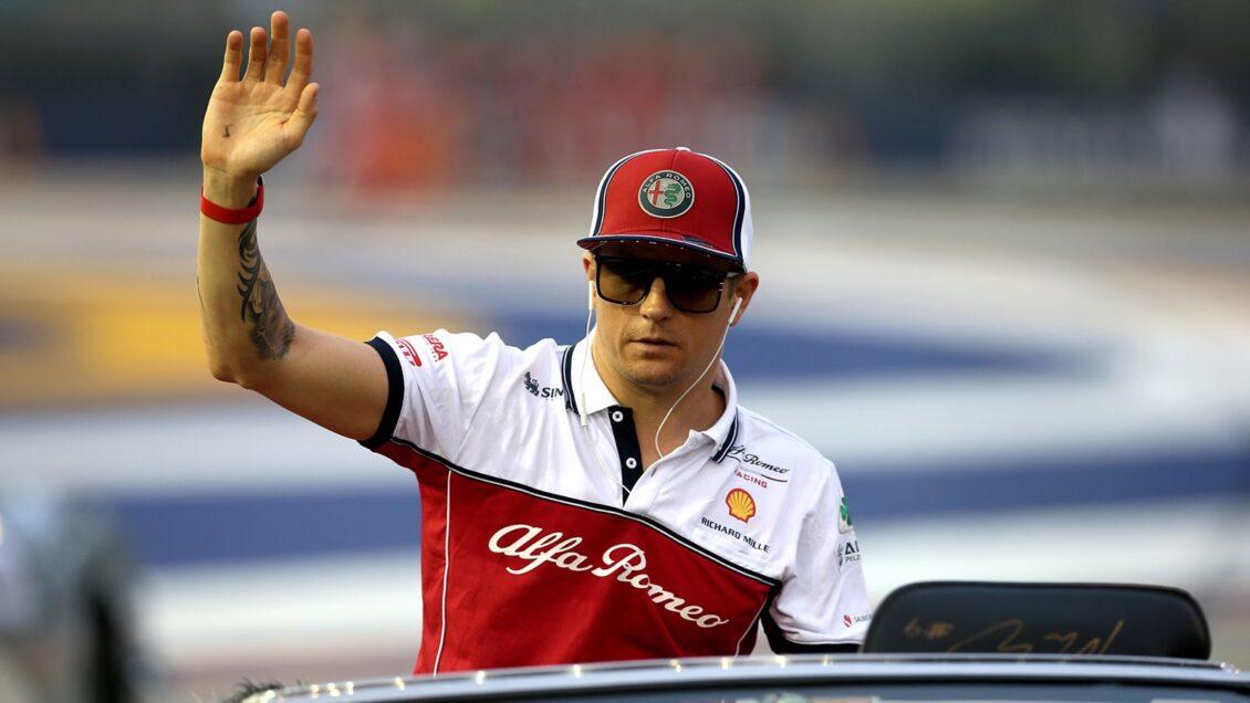 Kimi Räikkönen se despide de la Fórmula 1