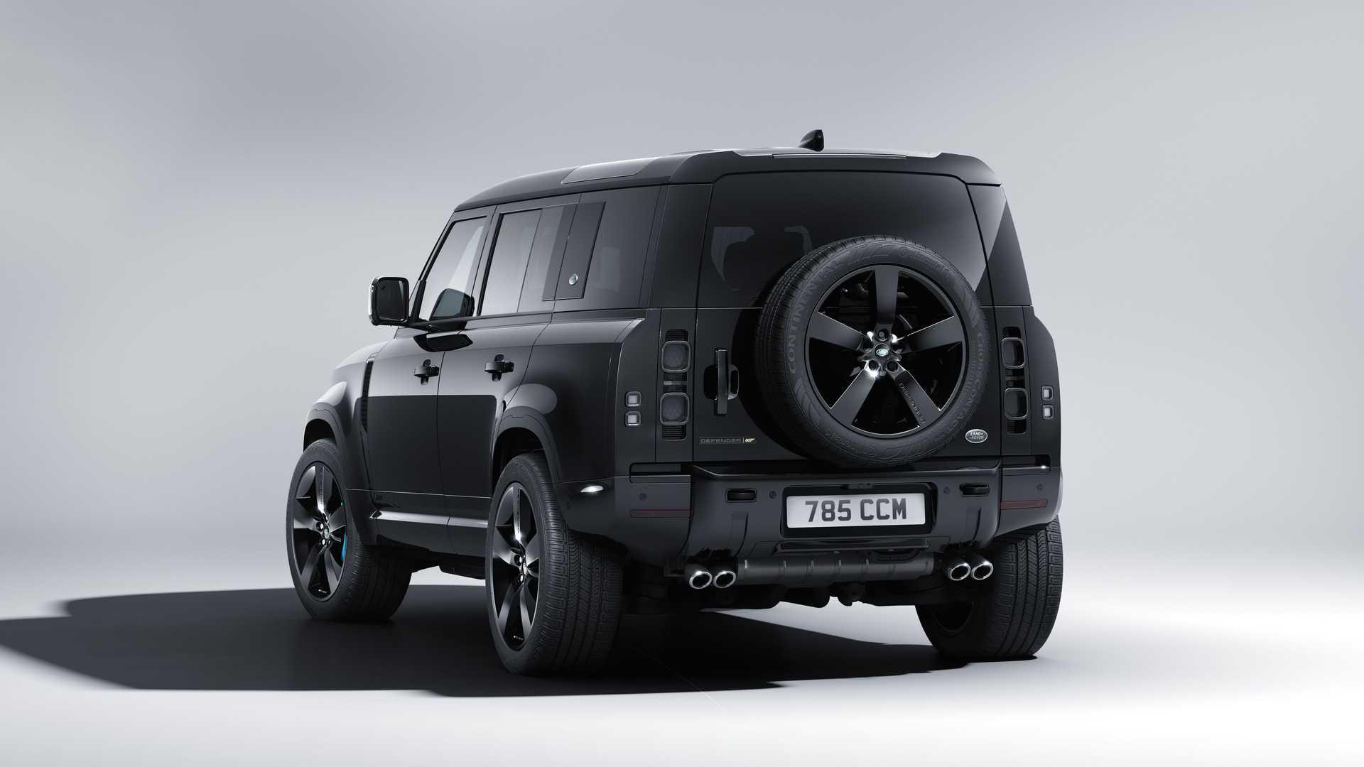 El Land Rover Defender V8 Bond Edition tiene 525 CV
