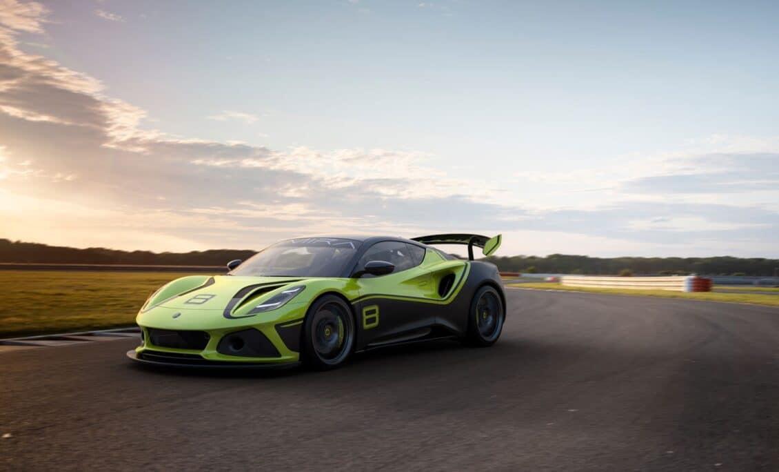 Así es el Emira GT4, un verdadero Lotus con motor Toyota