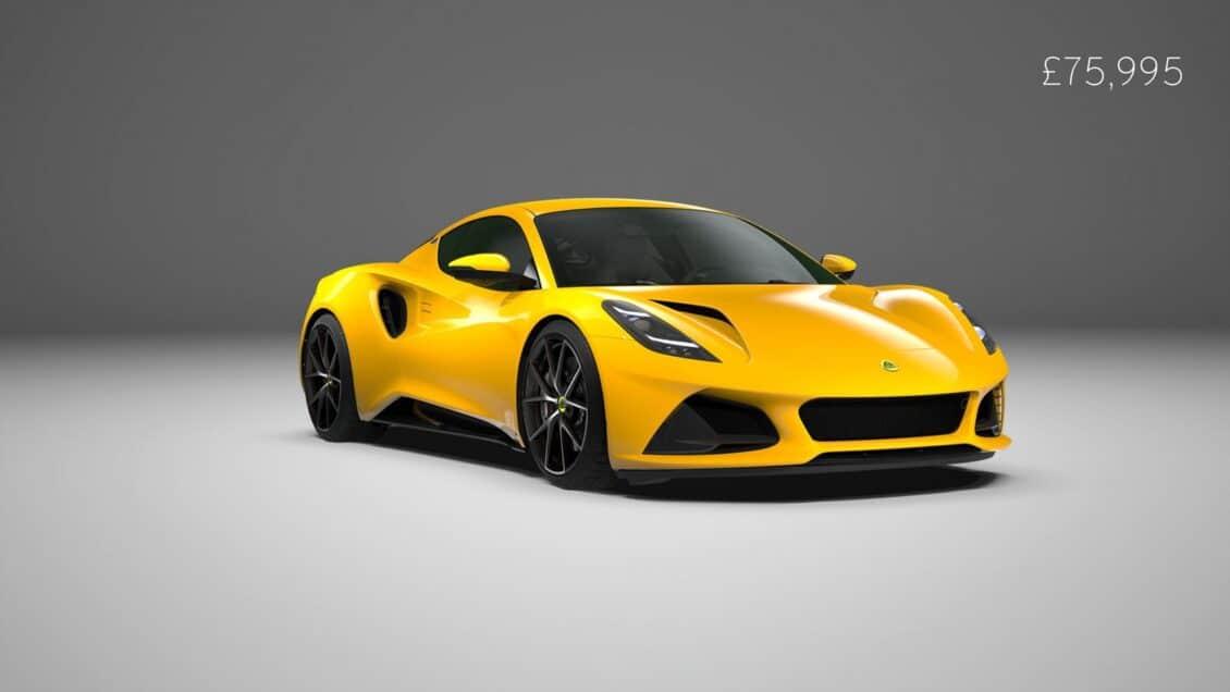 El Lotus Emira V6 First Edition ya tiene precio, aunque en unos meses veremos un cuatro cilindros
