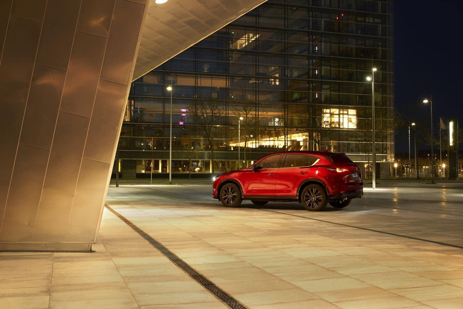 Mazda CX-5 2022 soul red