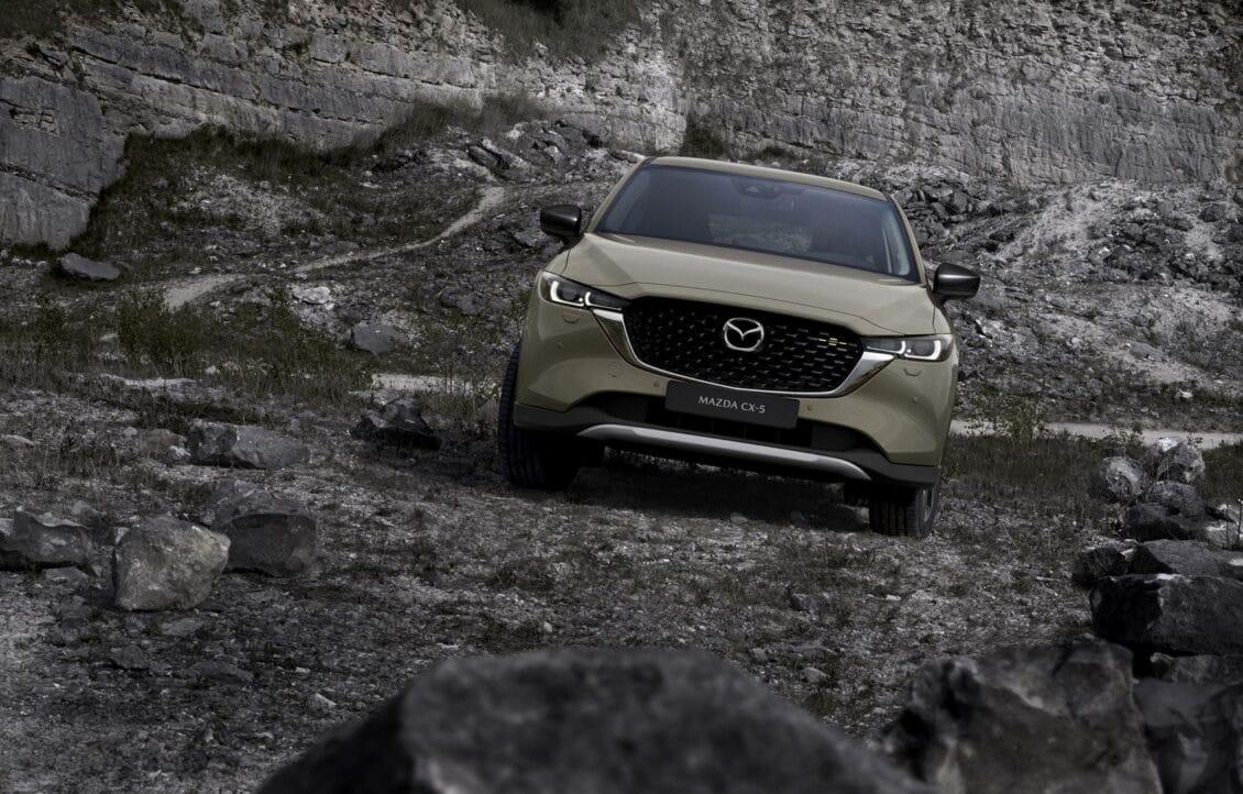 El Mazda CX-5 2022 llegará con interesantes novedades