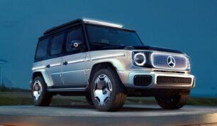 Mercedes-Benz EQG Concept: un anticipo del icono todoterreno en formato EV