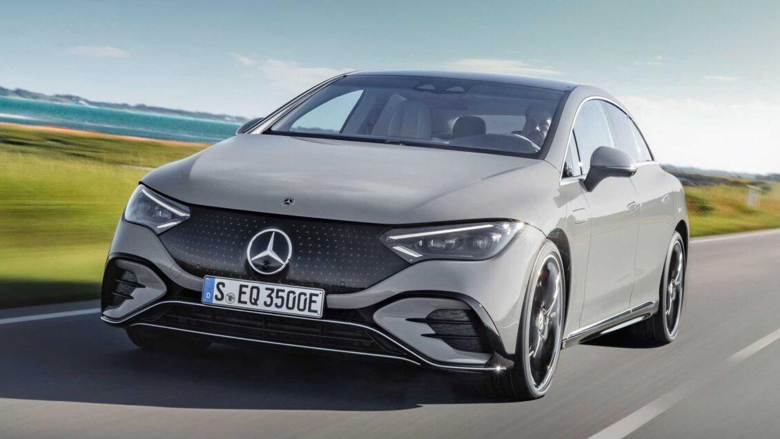 Así es el Mercedes EQE, del mismo tamaño que un CLS y directo a torpedear a Tesla