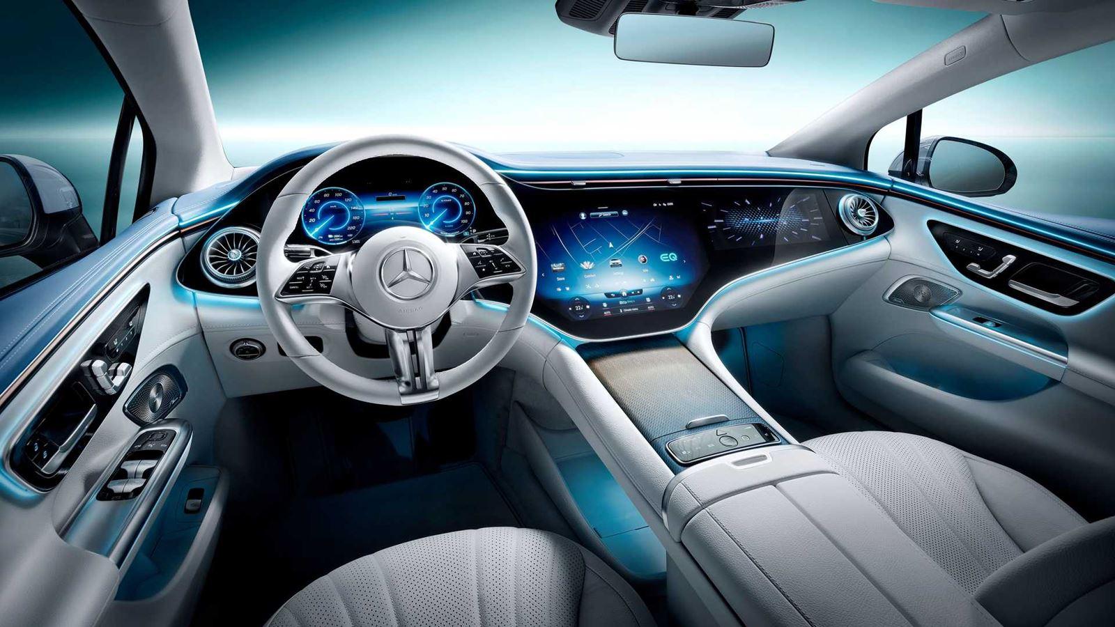 Interior Mercedes EQE